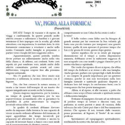 N. 7 | Anno 2001