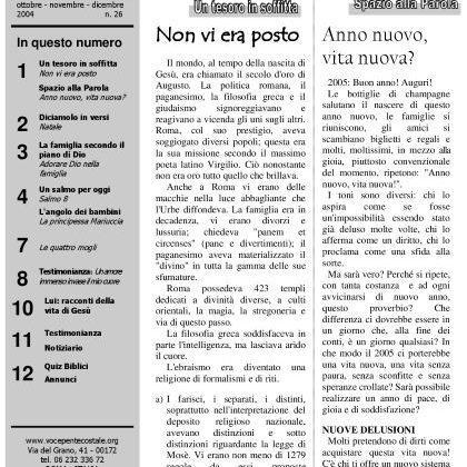 N. 26 | Anno 2004
