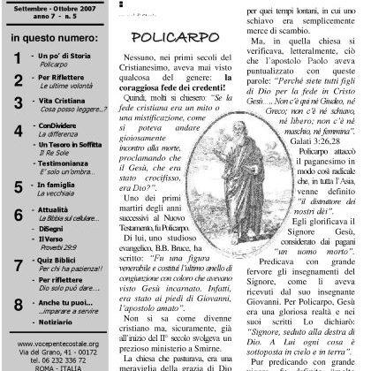 N. 43 | Anno 2007