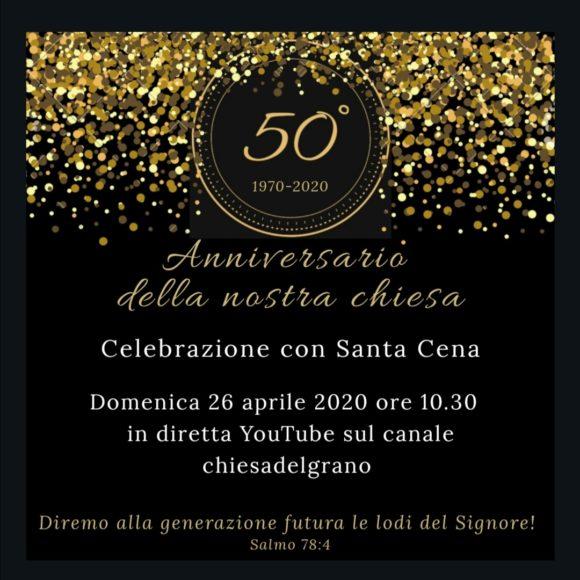 50° Anniversario della nostra chiesa